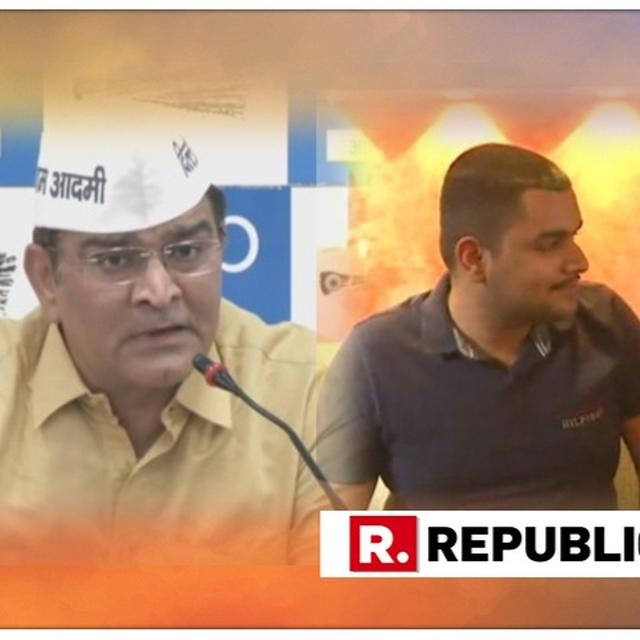 EXCLUSIVE: AAP DELHI CANDIDATE BALBIR JAKHAR'S SON MAKES SENSATIONAL 'CASH FOR TICKET' CHARGE, SAYS FATHER PAID RS 6 CRORE FOR WEST DELHI TICKET