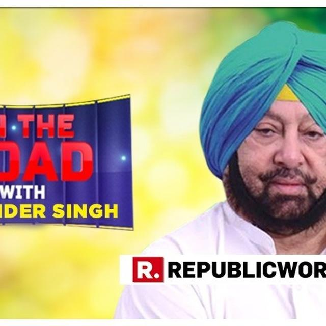 MUST WATCH: 'ON THE ROAD' WITH PUNJAB CM CAPTAIN AMARINDER SINGH AS HE DECLARES THAT CONGRESS WILL WIN ALL 13 SEATS DUE TO THE WORK HE HAS DONE