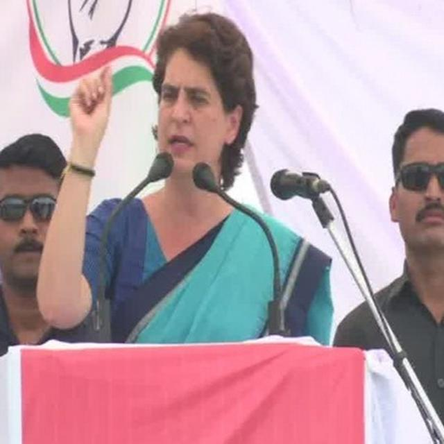 CONG LEADER, OTHER OFFICE-BEARERS RESIGN FROM PARTY ALLEGING HUMILIATION BY PRIYANKA