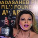 RAKHI SAWANT WINS DADASAHEB PHALKE FILM FOUNDATION AWARD FOR 'BEST ITEM DANCER IN BOLLYWOOD'. HERE'S WHAT SHE SAID