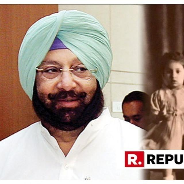 MOTHER'S DAY: PUNJAB CM CAPTAIN AMARINDER SINGH POSTS WONDERFUL BABY PHOTO CELEBRATING HIS 'FIRST TEACHER AND TRUEST FRIEND'