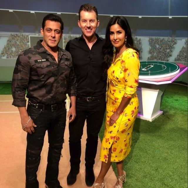 BRETT LEE BOWLS FOR SALMAN KHAN AND KATRINA KAIF'S 'BHARAT', HERE'S WHAT HE SAID