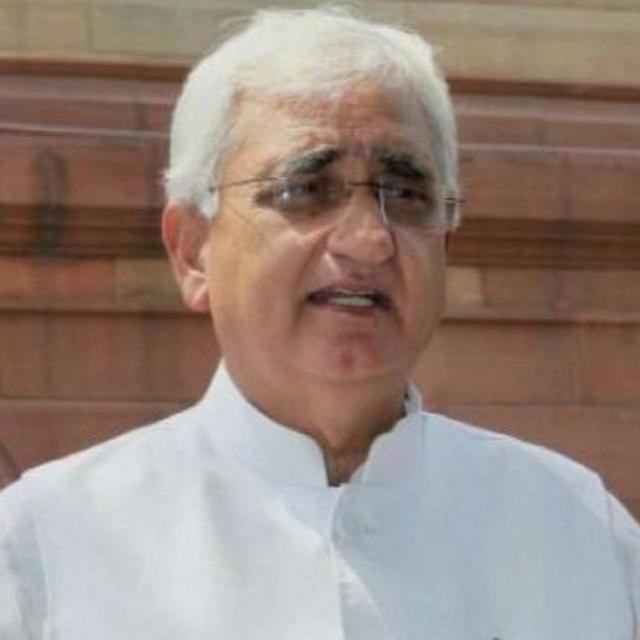 REGIONAL PARTIES ABUSING CONG SHOULDN'T EXPECT US TO SUPPORT THEM FOR THIRD FRONT: SALMAN KHURSHID