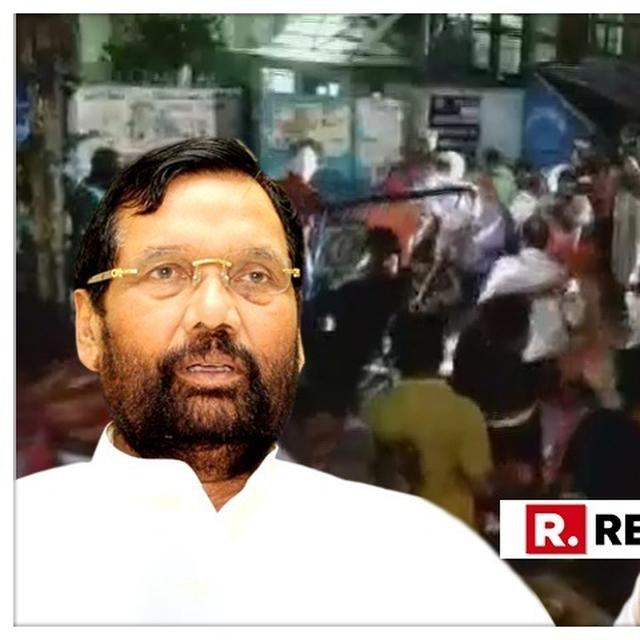 'IT'S CLEAR THAT OPPOSITION PARTIES HAVE ACCEPTED DEFEAT': RAM VILAS PASWAN CONDEMNS ATTACK ON BJP CHIEF AMIT SHAH'S ROADSHOW IN KOLKATA