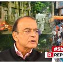 "ARUN JAITLEY TEARS INTO MAMATA BANERJEE'S ""GOVERNMENT OF GANGSTERS"" OVER ATTACK ON AMIT SHAH'S ROADSHOW IN KOLKATA"