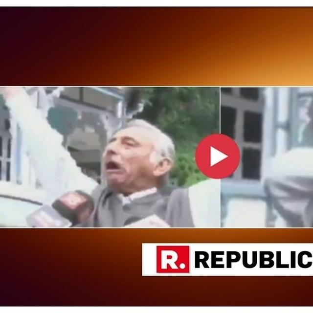 WATCH: AFTER REPEATING 'NEECH' COMMENT AGAINST PM NARENDRA MODI, MANI SHANKAR AIYAR NOW ABUSES JOURNALIST, THREATENS TO HIT HIM