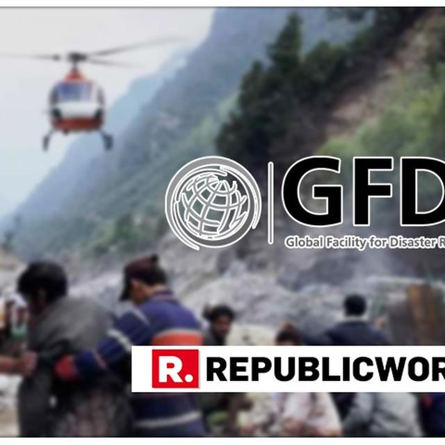 INDIA UNANIMOUSLY CHOSEN AS CO-CHAIR OF 'GLOBAL FACILITY FOR DISASTER REDUCTION AND RECOVERY' CONSULTATIVE GROUP