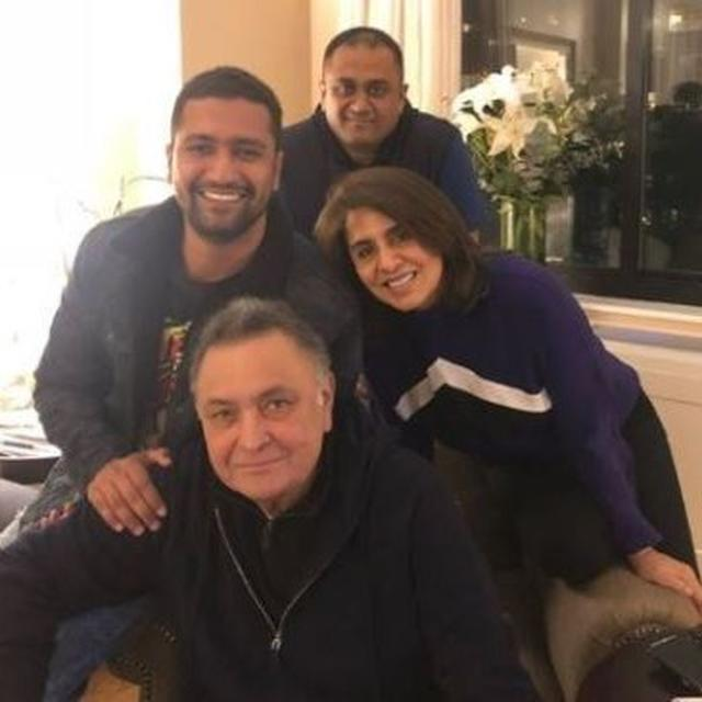 VICKY KAUSHAL MAKES REFERENCE TO HIS VIRAL DIALOGUE WHILE MEETING RISHI KAPOOR IN THE US
