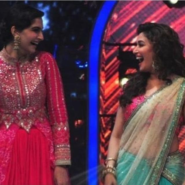 THIS IS THE MOST IMPORTANT THING SONAM KAPOOR SAYS SHE'S LEARNT FROM MADHURI DIXIT AS THE LATTER CELEBRATES HER BIRTHDAY