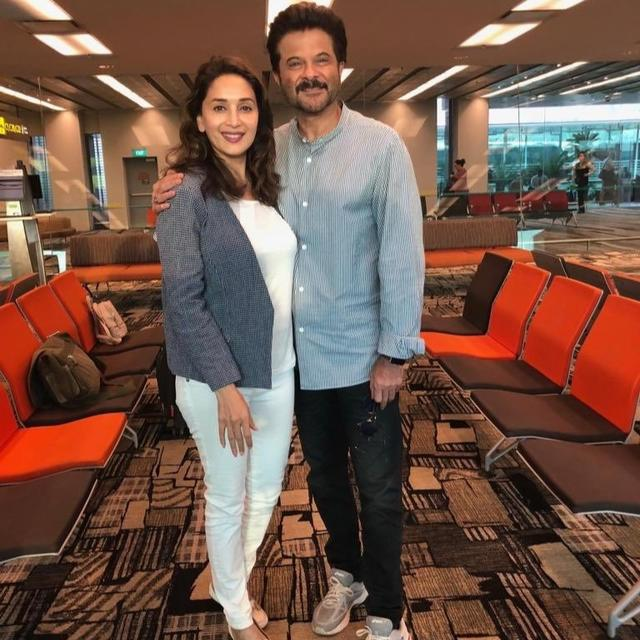 ANIL KAPOOR'S BIRTHDAY WISH FOR MADHURI DIXIT SUMS UP JUST WHY THEY'RE ONE OF BOLLYWOOD'S MOST ICONIC JODIS