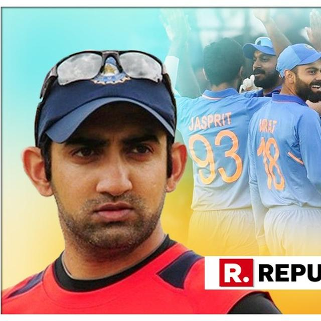 INDIA'S WORLD CUP SQUAD IS ONE QUALITY PACER SHORT, SAYS GAMBHIR