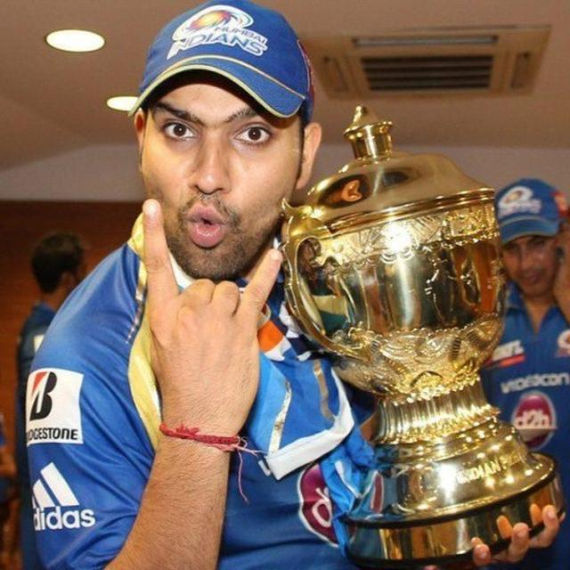 TRIPLE THE CELEBRATION: ROHIT SHARMA HAS LIFTED THE 'IPL CHAMPIONS' TROPHY AS A BACHELOR, HUSBAND AND FATHER. HERE'S HOW