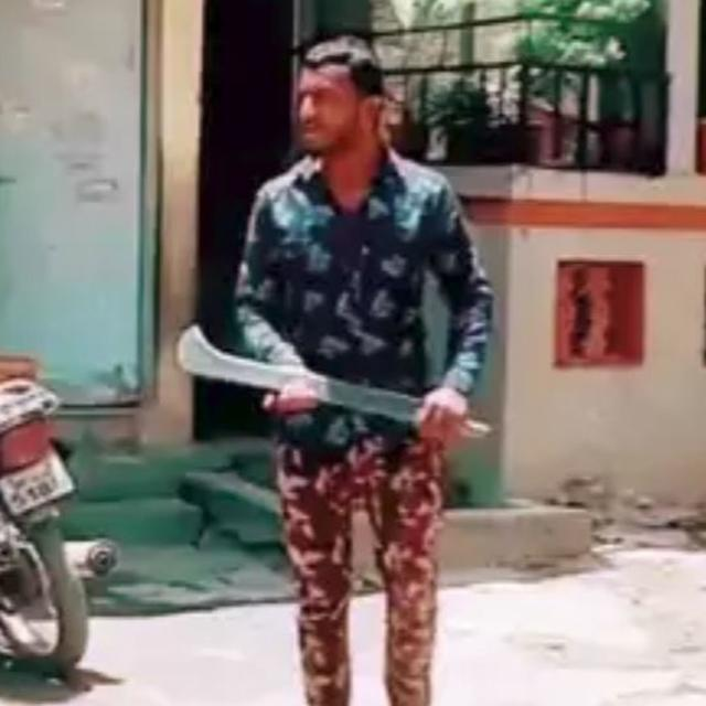 TIKTOK VIDEO: MAN ARRESTED FOR DANCING WHILE WIELDING SWORD IN PUNE