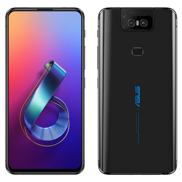 THIS IS THE ASUS ZENFONE 6 WITH ALL-SCREEN DESIGN AND DUAL FLIP CAMERAS
