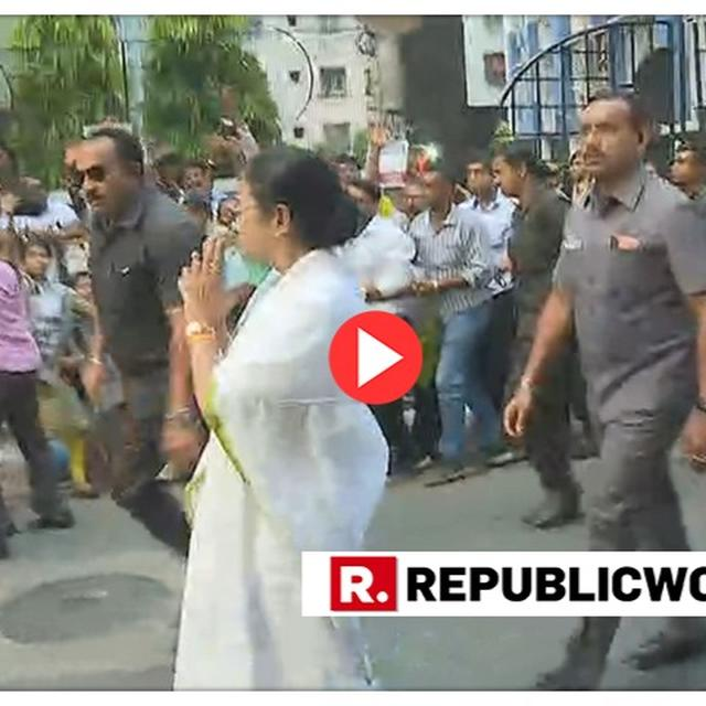 WATCH: REPUBLIC TV CONFRONTS CM MAMATA BANERJEE OVER POLL-VIOLENCE IN WEST BENGAL, QUESTIONS GO UNANSWERED