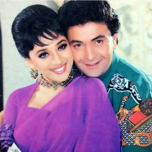 RISHI KAPOOR'S BIRTHDAY WISH FOR MADHURI DIXIT HAS A 'BURQA' CONNECTION. READ HERE