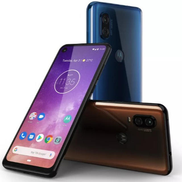 MOTOROLA ONE VISION LAUNCHED WITH 21:9 CINEMAVISION PUNCH HOLE DISPLAY, 48MP REAR AND 25MP FRONT CAMERA