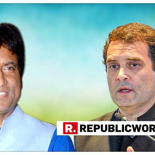 WATCH: RAJU SRIVASTAV JOKES ABOUT RAHUL GANDHI'S ELECTION PROSPECTS; NARRATES WHY 'POSTERS IN BANGKOK SAY RAHUL WILL COME IN 2019'