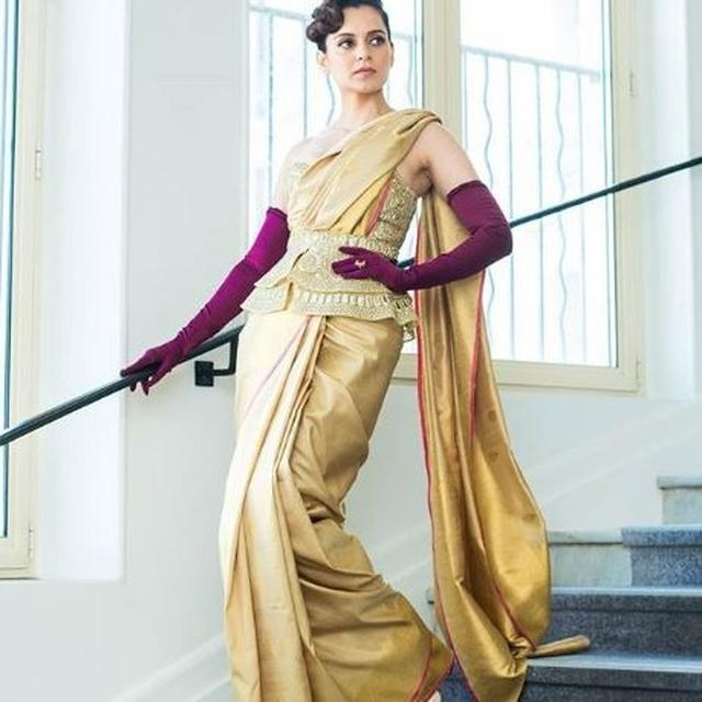 NETIZENS ARE ALL PRAISE FOR 'QUEEN' KANGANA RANAUT AS SHE TAKES OVER CANNES 2019 WITH HER FASHION-FORWARD OUTFIT