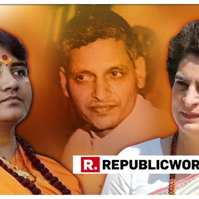 PRIYANKA VADRA HITS OUT AT BJP ON DISTANCING ITSELF FROM SADHVI PRAGYA'S 'NATHURAM GODSE IS A PATRIOT' REMARK, DARES IT TO 'SPELL OUT ITS STAND'