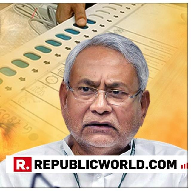 FOR THE FIRST TIME, BIHAR CM NITISH KUMAR WILL CAST HIS VOTE FROM PATNA CONSTITUENCY, IN THE FINAL PHASE OF 2019 LOK SABHA ELECTIONS