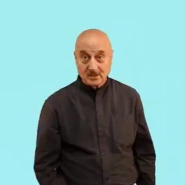 WATCH: ANUPAM KHER URGES CITIZENS TO VOTE WITH INTERESTING 'YOUR VOTE IS PRECIOUS' GIF AS INDIA GOES TO POLLS FOR THE FINAL TIME IN THE 2019 LOK SABHA ELECTIONS