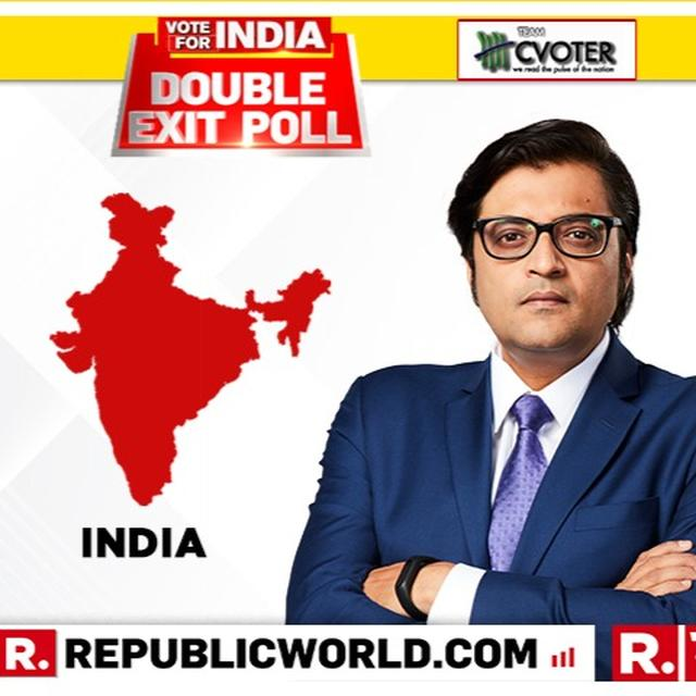REPUBLIC-CVOTER EXIT POLL PROJECTION: NDA WILL CROSS HALFWAY MARK, MODI SET TO FORM THE GOVERNMENT AGAIN, CONGRESS LIKELY TO FALL SHORT OF 100 MARK