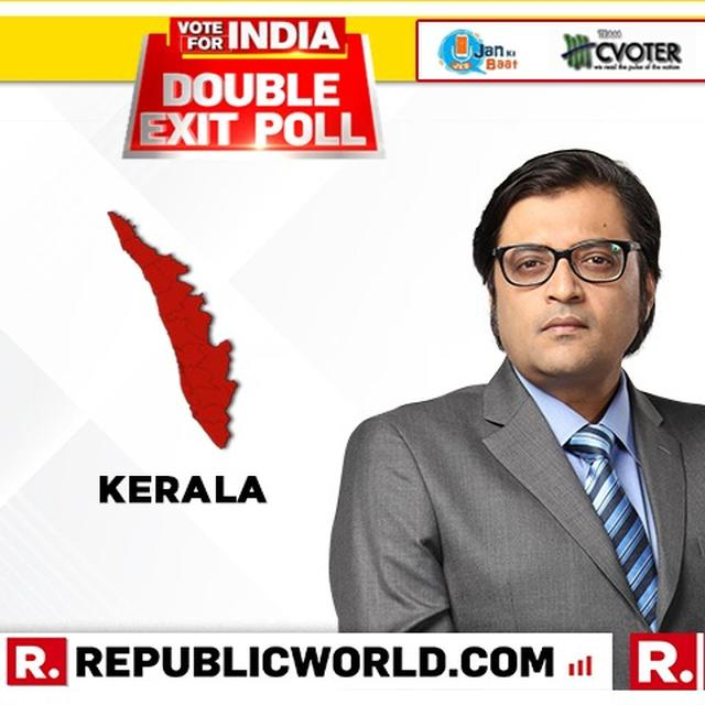 REPUBLIC DOUBLE EXIT POLL FOR KERALA: UPA PROJECTED TO WIN BIG, NDA NOT LIKELY TO WIN ANY SEATS