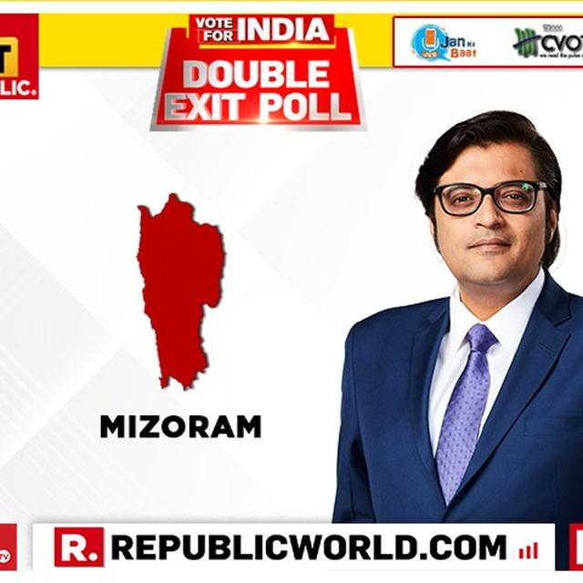 REPUBLIC DOUBLE EXIT POLL FOR MIZORAM: WHILE CVOTER PROJECTS CONGRESS AND ZORAM PEOPLE'S MOVEMENT ALLIANCE'S SUCCESS, JAN KI BAAT SAYS MNF REPEAT PERFORMANCE LIKELY