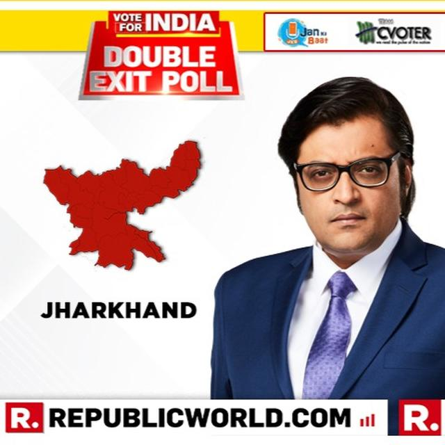 REPUBLIC DOUBLE EXIT POLL FOR JHARKHAND: CVOTER PROJECTS TILT TOWARDS UPA, JAN KI BAAT SAYS BJP LIKELY TO BE AHEAD