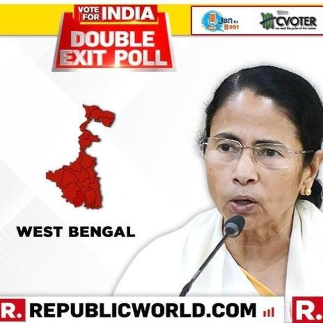 """I DON'T TRUST EXIT POLL GOSSIP..."": TRINAMOOL CHIEF MAMATA BANERJEE HAS THIS TO SAY AMID EXIT POLLS PROJECTING BJP INROADS INTO HER BACKYARD"