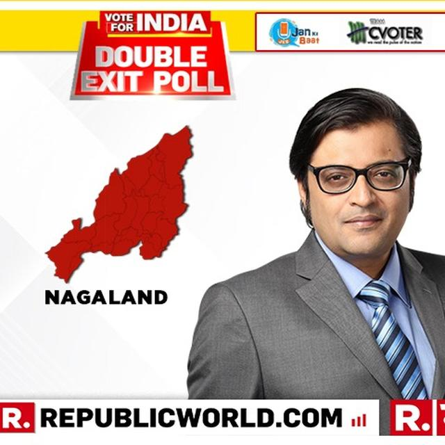 REPUBLIC DOUBLE EXIT POLL FOR NAGALAND: NDA PROJECTED TO RETAIN LONE SEAT, UPA LIKELY TO DRAW BLANK SAY CVOTER AND JAN KI BAAT