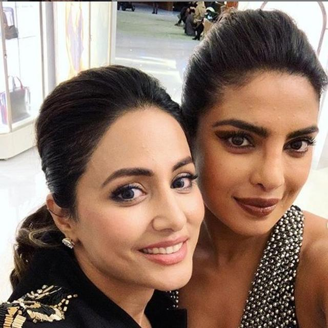 CANNES 2019: 'YOU ARE A WALKING INSPIRATION' HINA KHAN PENS AN EMOTIONAL POST FOR PRIYANKA CHOPRA. READ HERE