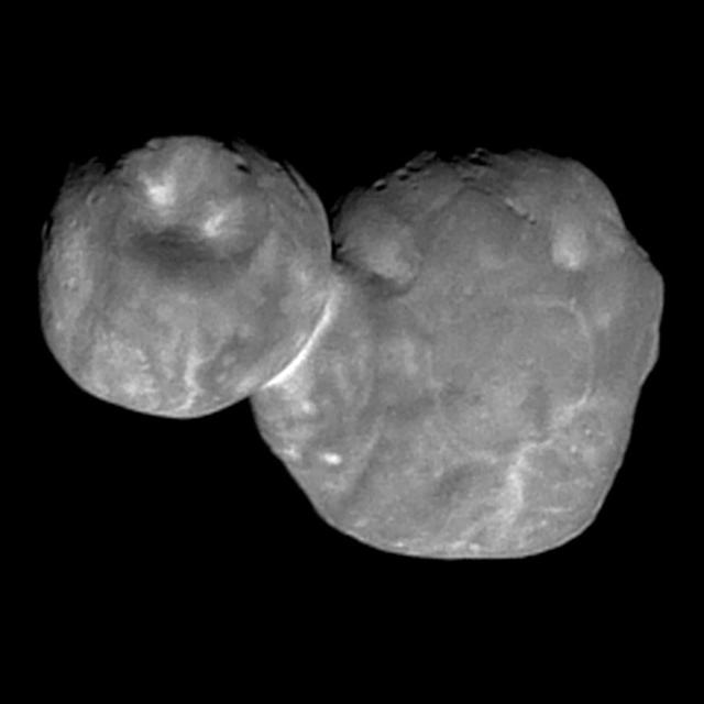 NASA FINDS EVIDENCE OF WATER ON ULTIMA THULE