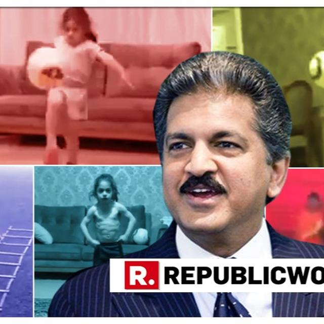WATCH: 'I THOUGHT IT WAS A LITTLE GIRL', ANAND MAHINDRA CAN'T STOP TALKING ABOUT FIVE-YEAR-OLD IRANIAN BOY'S EXCEPTIONAL FOOTBALL SKILLS