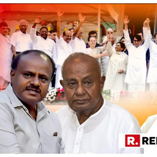 IS THE EXIT POLL PROJECTION FOR KARNATAKA A RED FLAG AGAINST 'KHICHDI SARKARS'?