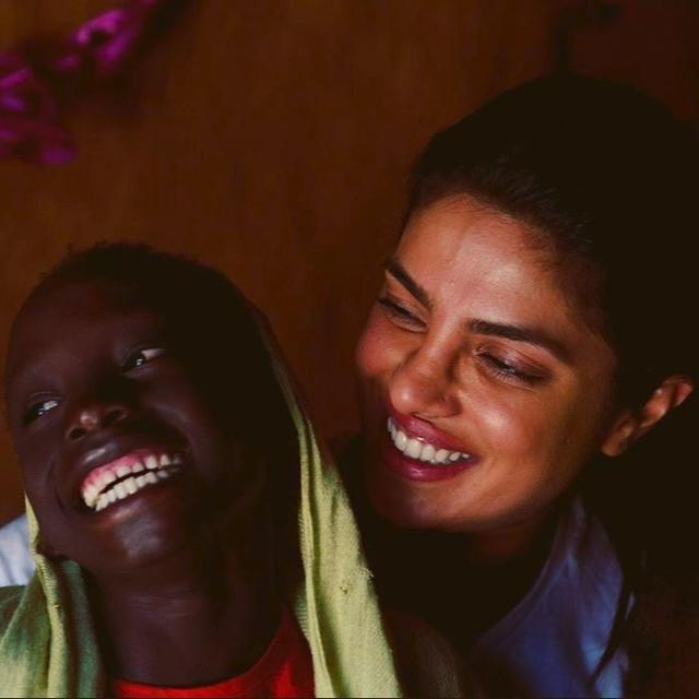 IN PICTURES | AFTER MAKING A STUNNING CANNES DEBUT, PRIYANKA CHOPRA SPENDS TIME WITH REFUGEE CHILDREN IN ETHIOPIA
