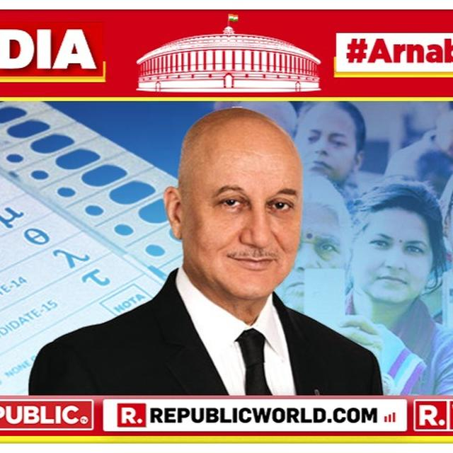 AHEAD OF THE 2019 LOK SABHA ELECTION RESULTS, ANUPAM KHER CELEBRATES THE HUGE VOTER TURNOUT, LOOKS FORWARD TO THE VERDICT OF THE NATION