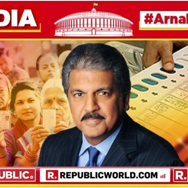 """TWO NEW POWER BLOCS ARE OVERTHROWING THE ESTABLISHMENT"": ANAND MAHINDRA MAKES DEEP ANALYSIS AS 2019 ELECTION RESULTS UNFOLD"