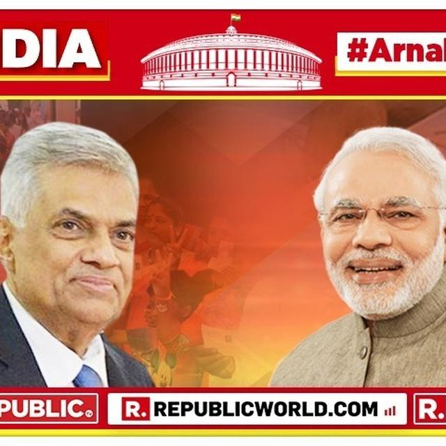AS BJP INCHES CLOSER TO VICTORY IN 2019 LOK SABHA ELECTIONS, SRI LANKA PM RANIL WICKREMESINGHE CONGRATULATES PM NARENDRA MODI. HERE'S HIS MESSAGE.