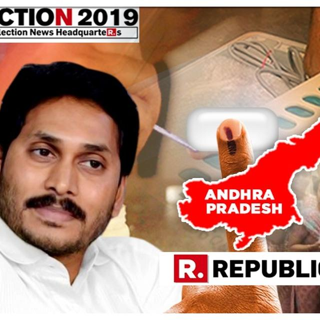 YSRCP RUNS RAMPANT OVER TDP IN ANDHRA PRADESH ASSEMBLY ELECTIONS, JAGAN MOHAN REDDY LIKELY TO TAKE OATH AS CHIEF MINISTER ON MAY 30