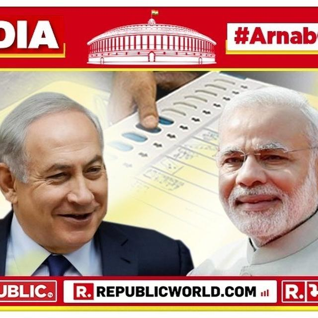 "2019 LOK SABHA ELECTION RESULTS: ""EXCELLENT, MY FRIEND,"" SAYS ISRAEL PM BENJAMIN NETANYAHU LAUDING PM NARENDRA MODI'S LEADERSHIP OVER NDA STORMING TOWARDS A MASSIVE VICTORY. READ HIS MESSAGE HERE."