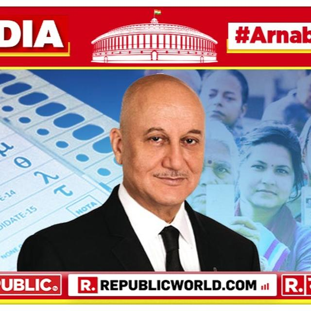 EXCLUSIVE: 'I AM VERY PROUD TO SAY THAT INDIA HAS WON TODAY': ANUPAM KHER HAILS PM NARENDRA MODI, SAYS HE HAS GIVEN A VISION TO THE COUNTRY, WATCH VIDEO