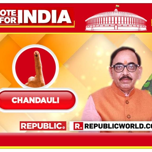 2019 LOK SABHA ELECTION RESULTS FOR CHANDAULI, UTTAR PRADESH: STATE BJP CHIEF MAHENDRA NATH PANDEY RETAINS HIS PARLIAMENTARY CONSTITUENCY AGAINST SP'S SANJAY SINGH