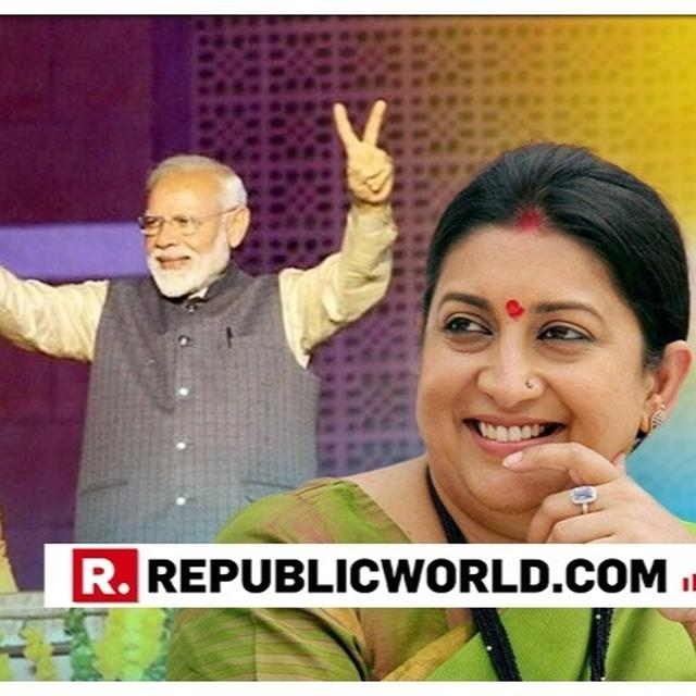 "EXCLUSIVE | ""NARENDRA MODI AND AMIT SHAH SYMBOLISE THE RESURGENCE OF THE AVERAGE INDIAN,"" SAYS SMRITI IRANI HAILING THE MANDATE OF THE CITIZENS OF INDIA IN THE 2019 ELECTIONS"