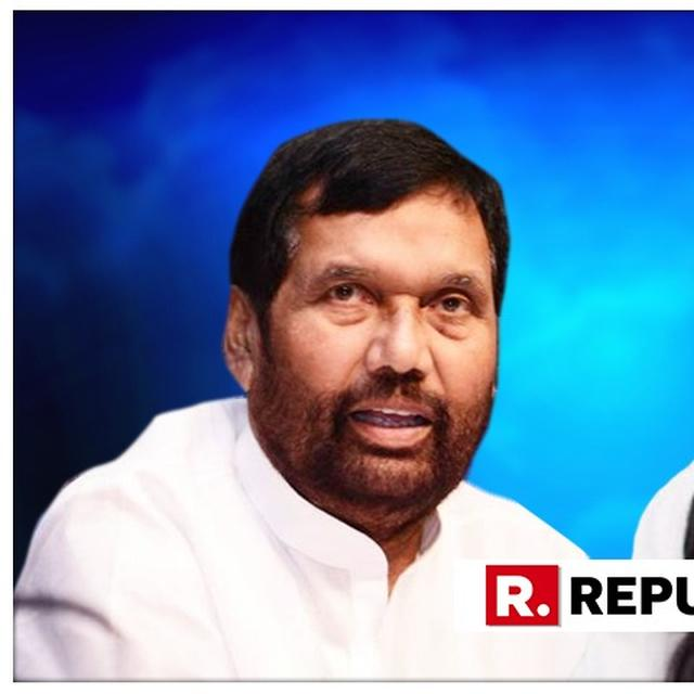 PASWAN MOCKS CONG FOR FAILING TO GET LOP POSITION