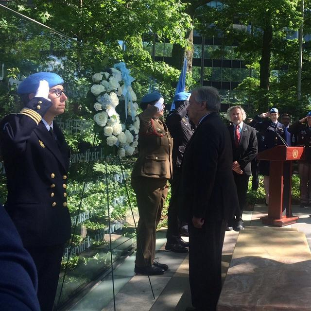 GUTERRES HONOURS INDIAN POLICE OFFICER POSTHUMOUSLY FOR CONTRIBUTION TO UN PEACEKEEPING