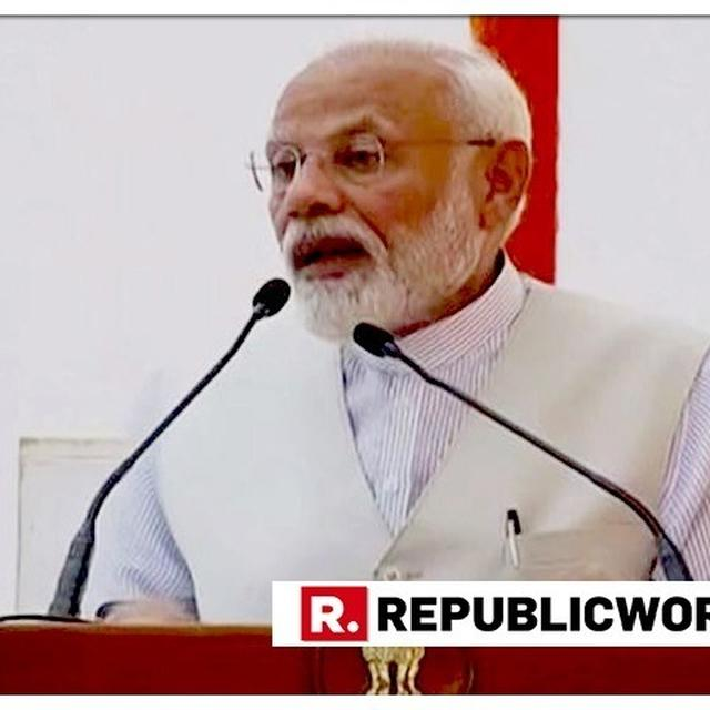 WATCH: PM MODI ADDRESSES PMO STAFF AFTER ELECTION WIN, HAILS VIRTUES OF EFFICIENCY