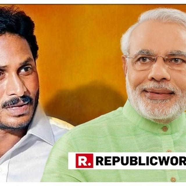 YSRCP CHIEF JAGAN MOHAN REDDY TO MEET PM MODI IN NEW DELHI ON SUNDAY BEFORE TAKING OATH AS ANDHRA PRADESH CM ON MAY 30