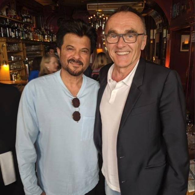 'ALWAYS SO INSIGHTFUL': ANIL KAPOOR DOES SOME 'CATCHING UP' WITH 'SLUMDOG MILLIONAIRE' DIRECTOR DANNY BOYLE
